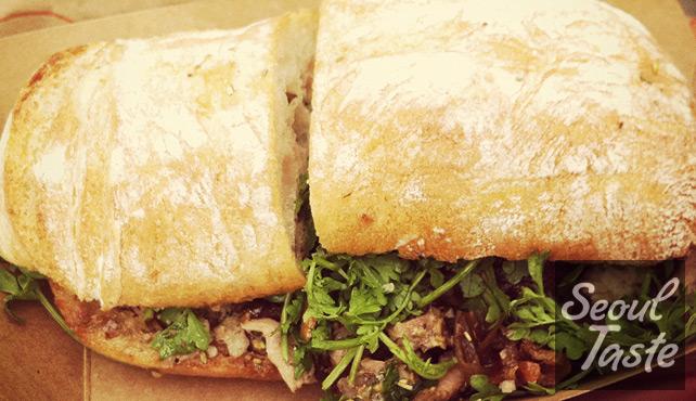 Porchetta Sandwich