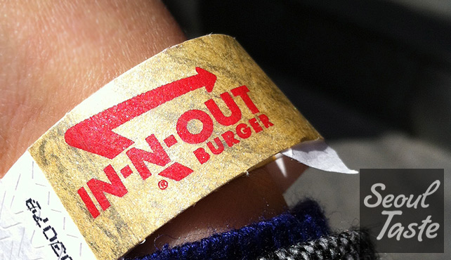 An In-N-Out concert? No wristband, no burger.