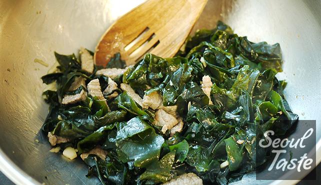 Stir-fry Seaweed
