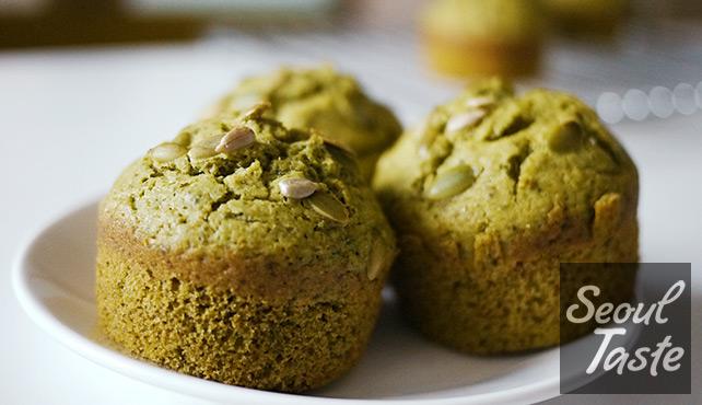Green Tea Muffins