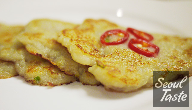 감자전 (Potato Jeon)