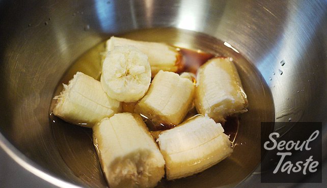 Bananas in oil