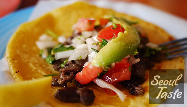 Beef Taco (4900원)