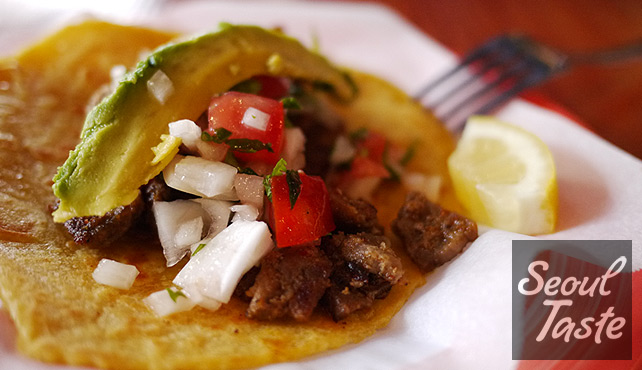 Pork Taco (4300원)