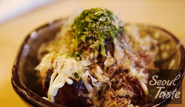 타코야끼 (Green Dish - 1500원)